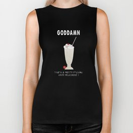 PULP FICTION - good milkshake Biker Tank