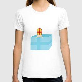 Funny Cute Kids Art St. Nicholas Sinterklaas T-shirt