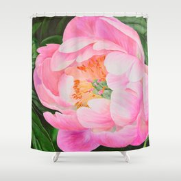 Bold and Beautiful by Teresa Thompson Shower Curtain