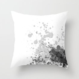 Passion Grey Throw Pillow