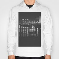 liverpool Hoodies featuring The Liverpool River. by Rory-Mackenzie
