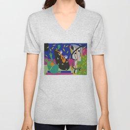 Matisse Cut Out Collage Unisex V-Neck