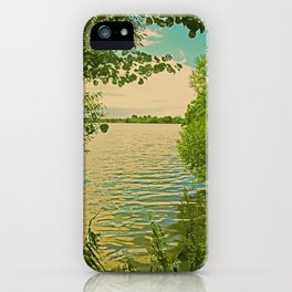Mecklenburg Vorpommern, a place at thousends of Seas iPhone Case
