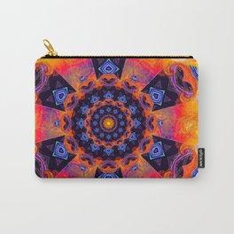 Windmill Mandala Carry-All Pouch