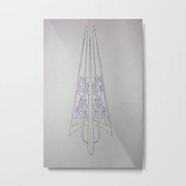 pinstriping 1 Metal Print