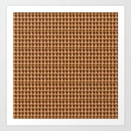 Loads of eyes pattern Art Print