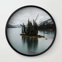 Beautiful Maligne Lake Wall Clock