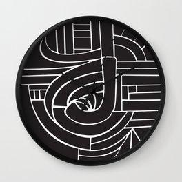 Circle J Wall Clock