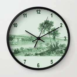 Vintage Lake Champlain  (Green) Wall Clock