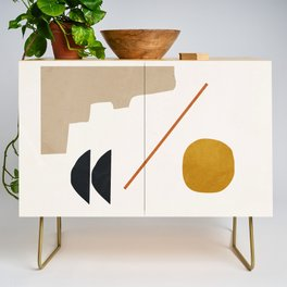 abstract minimal 6 Credenza