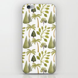 Watercolor Forrest iPhone Skin