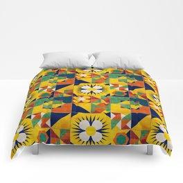 Spanish tiles Comforters