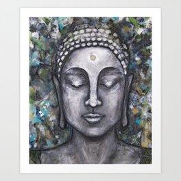 Buddha no.2 Art Print