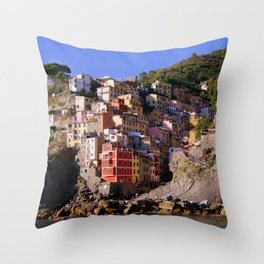 CinqueTerre_20180701_by_JAMFoto Throw Pillow