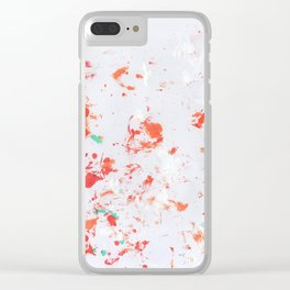 Through the Microscope Clear iPhone Case