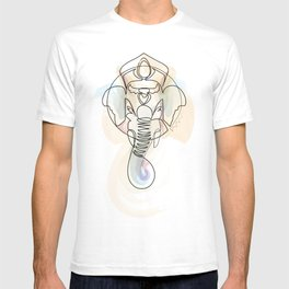 One Line Ganesh T-shirt