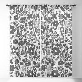 Autumn Garden 001 Sheer Curtain