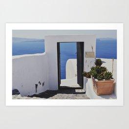 Doorway to the Caldera Art Print