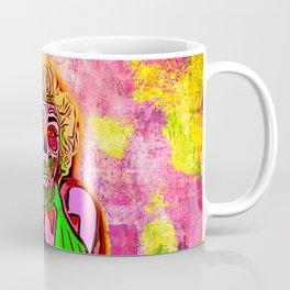 Pop Art Zombie Beauty Coffee Mug