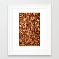 bread Framed Art Prints featuring Bread by AbstractCreature