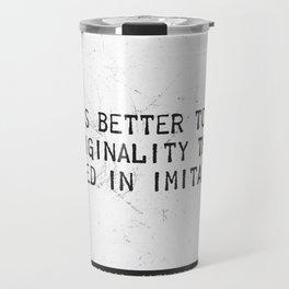 Herman Melville quote 2 Travel Mug