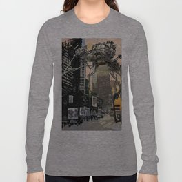 Martian attack Long Sleeve T-shirt