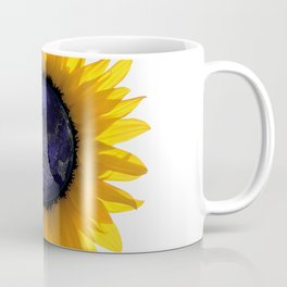 Sunflower Eclipse Earth Sun Coffee Mug