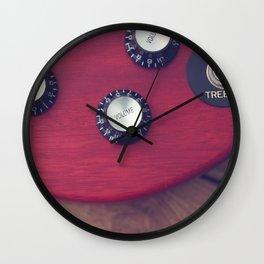 Guitar Dials Wall Clock