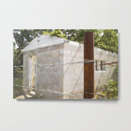 Home on a Wire Metal Print