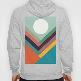Rows of valleys Hoody