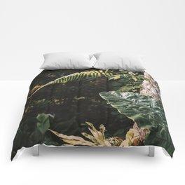 Dark Botanical 06 | Travel Photography | Bali Series Comforters