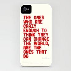 The Crazy Ones iPhone (4, 4s) Slim Case