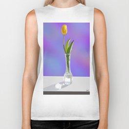 Yellow Tulip Biker Tank
