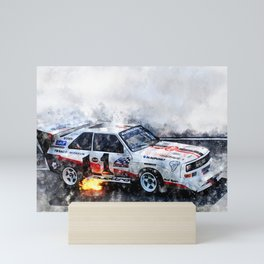 Walter Roehrl, S1, Bikes Peak Mini Art Print
