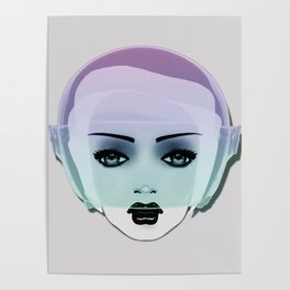 MOON CHILD . Candy Poster