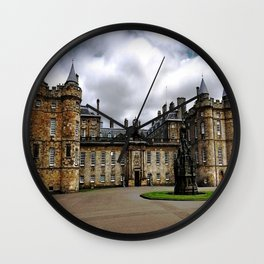 Holyrood Palace - Edinburgh United, Kingdom - Scotland Wall Clock