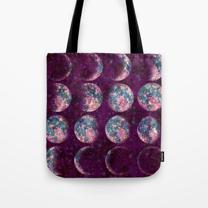 Celestial Moons Tote Bag