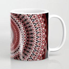 Whirls of Maroon Coffee Mug