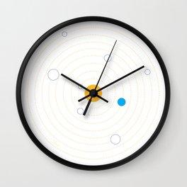 Helioeccentric Wall Clock