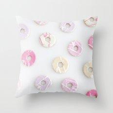 Mini Donuts Throw Pillow