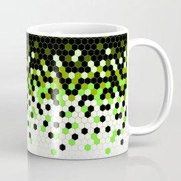 Flat Tech Camouflage Reverse Green Coffee Mug