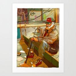 Californium | Hobo Philip K. Dick Art Print