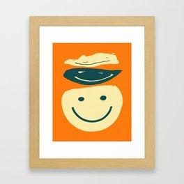 SMILE (1) Framed Art Print