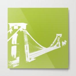 Clifton [Green] Metal Print