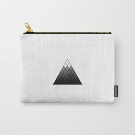 Geometric Snowy Mountain Carry-All Pouch