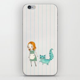 Alice and Chesh iPhone Skin