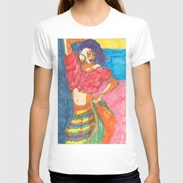 Island, Painted Ladies Collection T-shirt