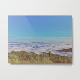 Above Cloud • Appalachian Trail Metal Print