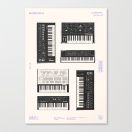 Collection : Synthetizers Canvas Print