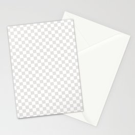 CheckMate Palladium White Stationery Cards